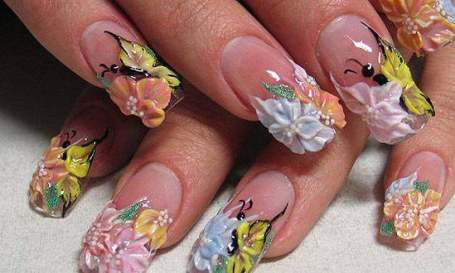 Various Nails Styles And Designs Wedding Theme Ideas