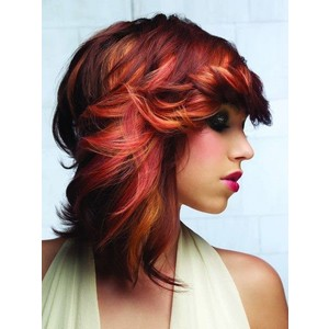 Red Ombre Hair | Wedding Theme Ideas